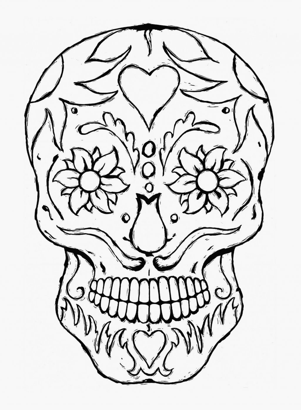 scary halloween coloring pages for teens coloring home