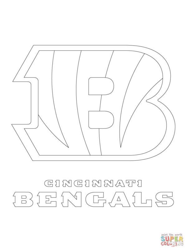 Cincinnati Bengals Logo Coloring Free Printable Coloring ...