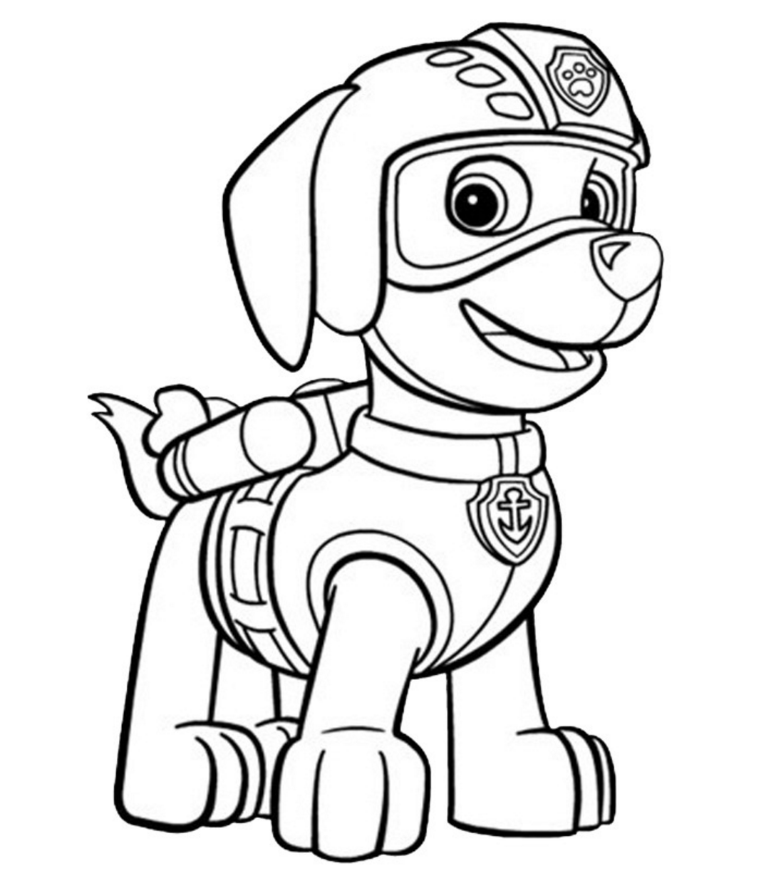 PAW Patrol Coloring Book Pages