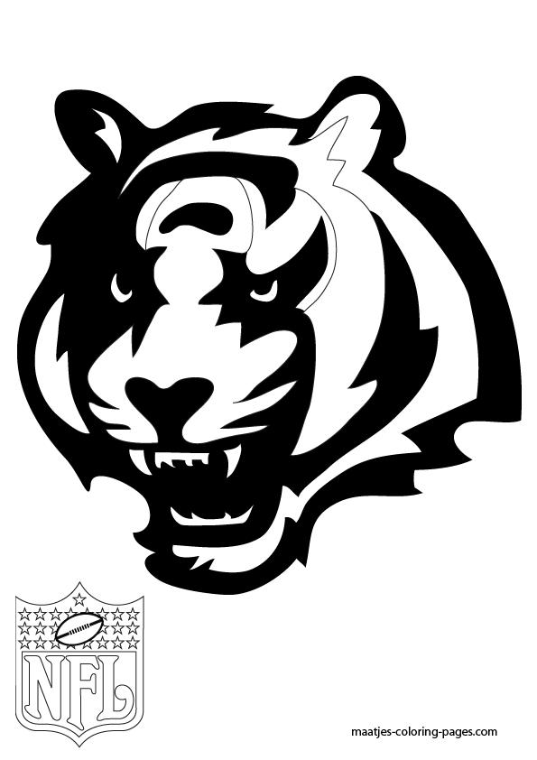 Printable Cincinnati Bengals Coloring Pages Az Coloring