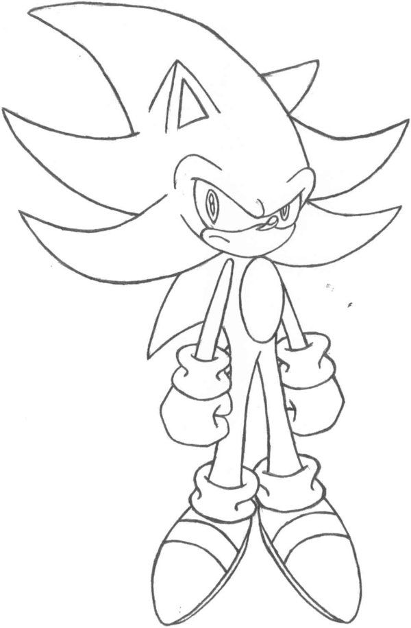 Super Sonic And Super Shadow And Super Silver Coloring ...