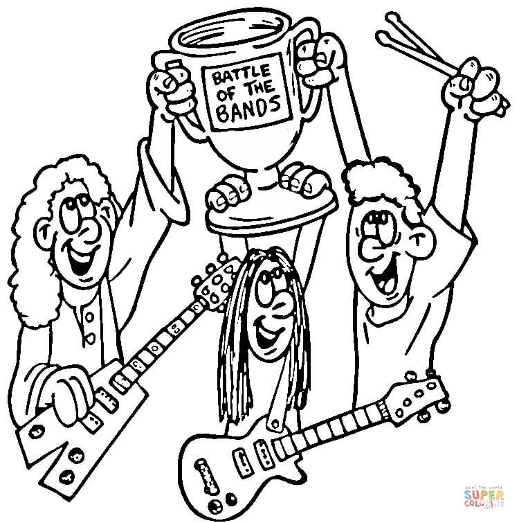Musical instruments coloring pages | Free Coloring Pages