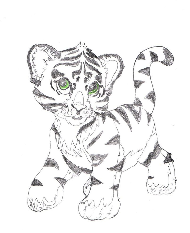 Lisa Frank Tiger Coloring Pages Coloring Home