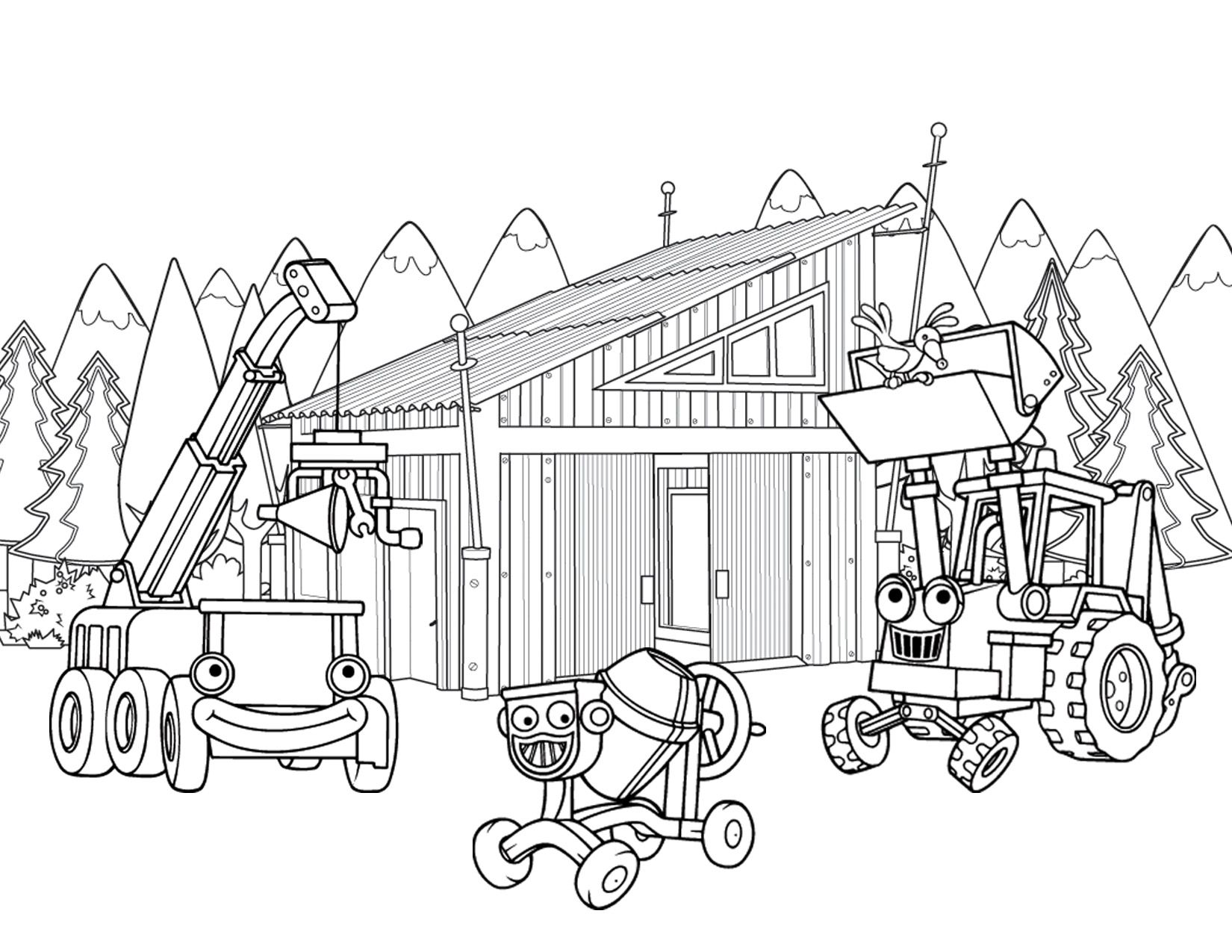 Bob The Builder Coloring Pages (20 Pictures) - Colorine.net | 22742