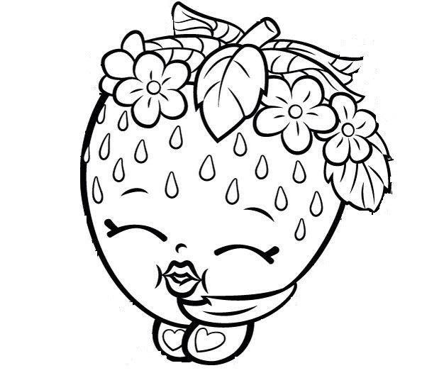 Shopkins Coloring Pages Print Shopkins Lippy Lips Coloring