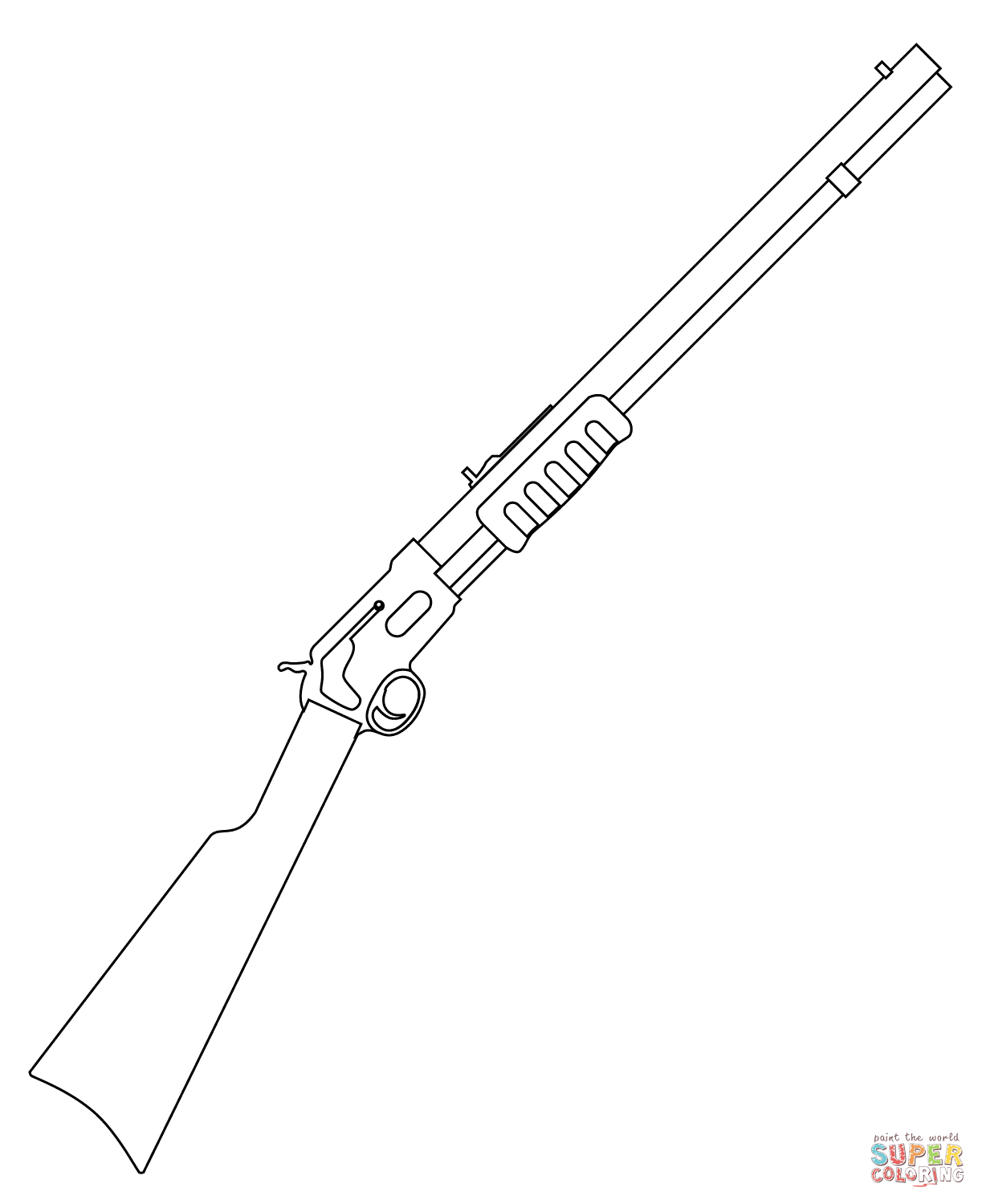 gun coloring pages free printable pictures