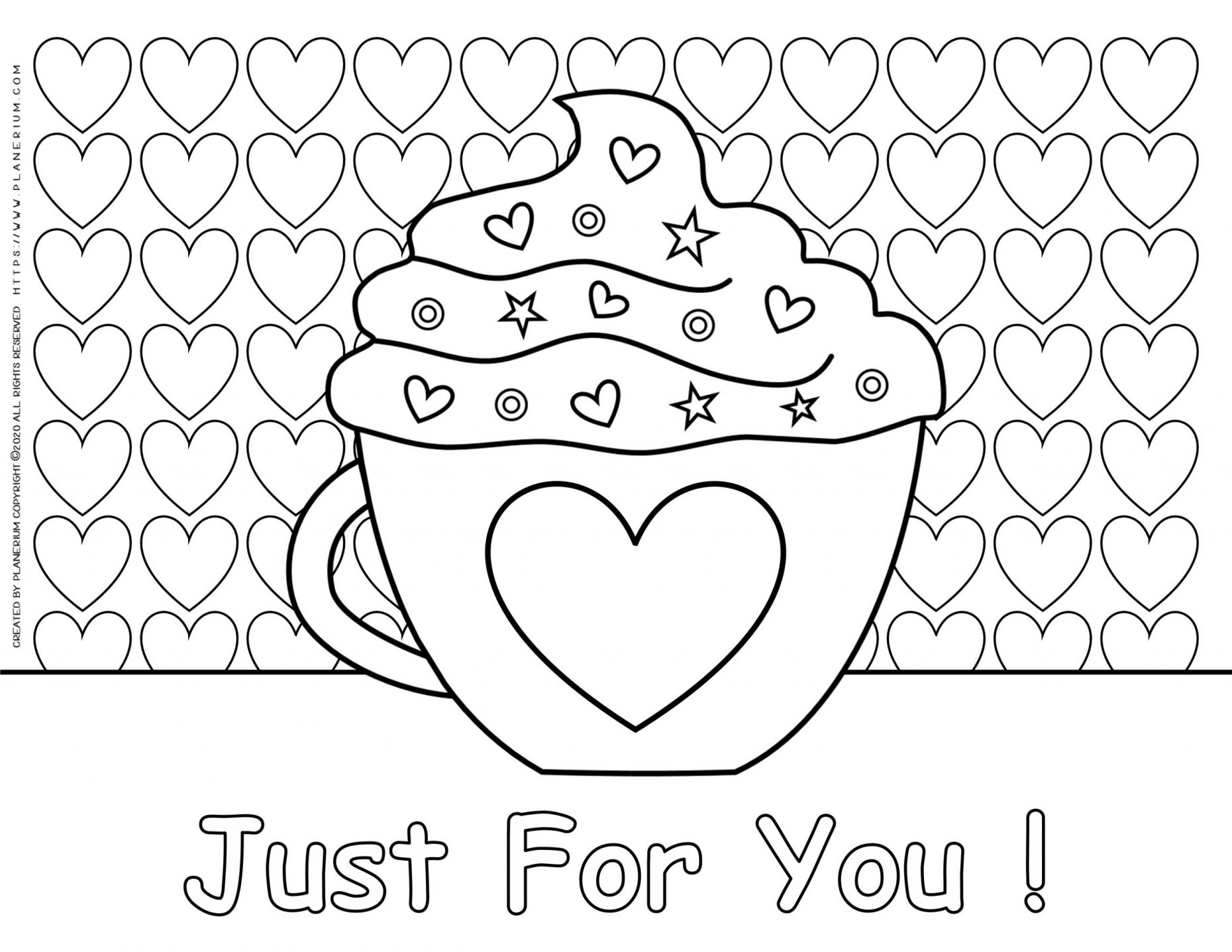 Valentine's Day 2020 Coloring Pages - Coloring Home