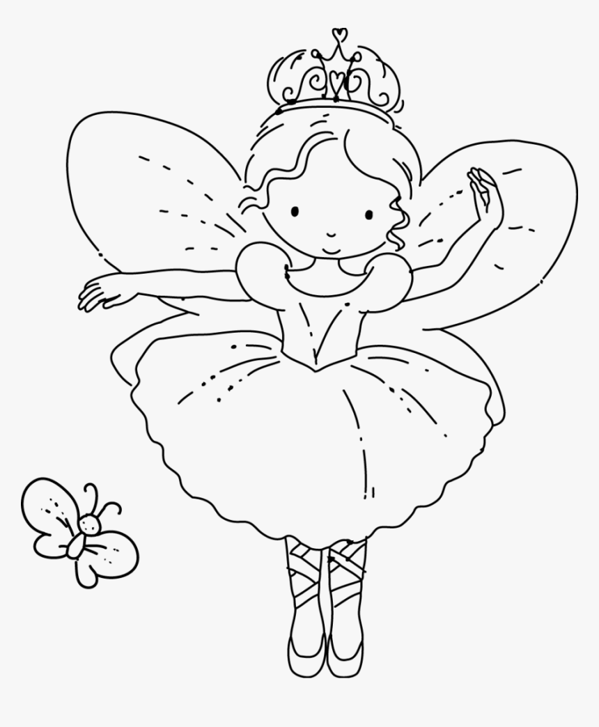 Color Tooth Fairy Coloring Pages Fresh - Simple Fairy ... - Coloring Home