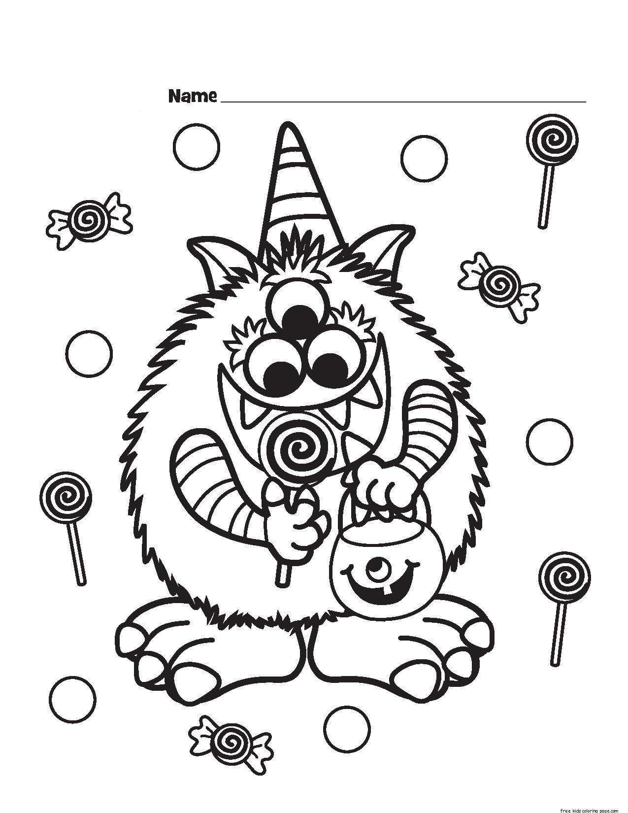 adidasy halloween coloring pages - photo#36