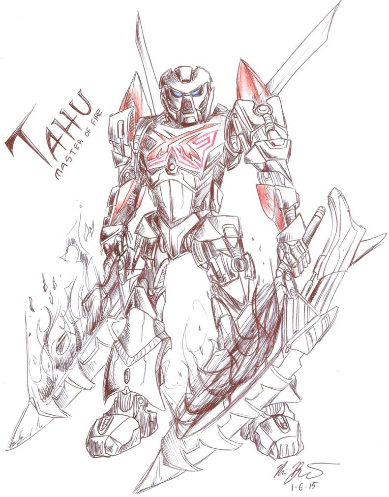 Bionicle - Coloring Pages For Kids And For Adults - Coloring Home