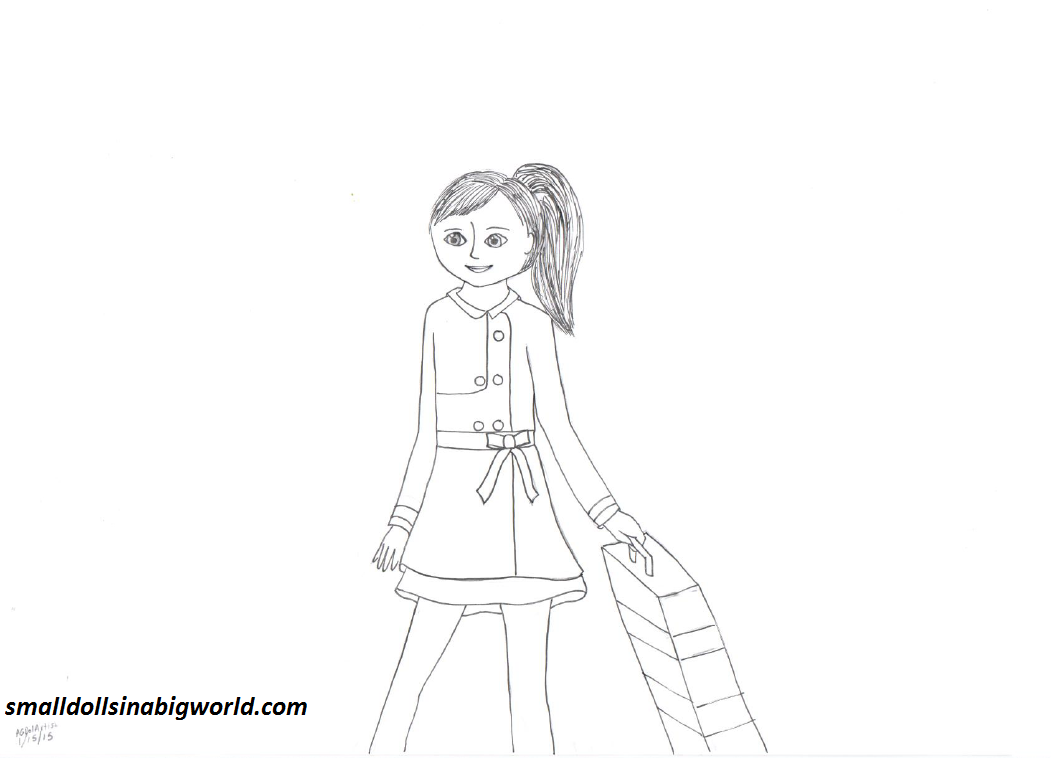 American Girl Grace Coloring Pages - Colorine.net | #24899