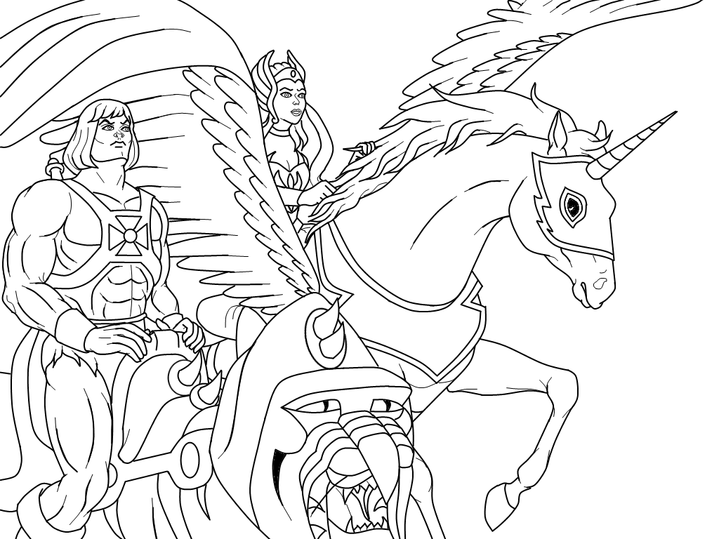 Masters Coloring Pages - Coloring Home