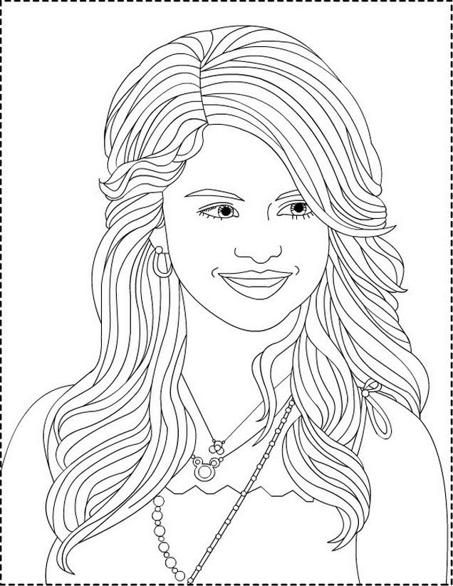 Wizards Of Waverly Place Coloring Pages For Kids And For Adults