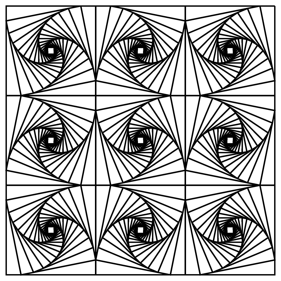 coloring illusion pages optical printable popular