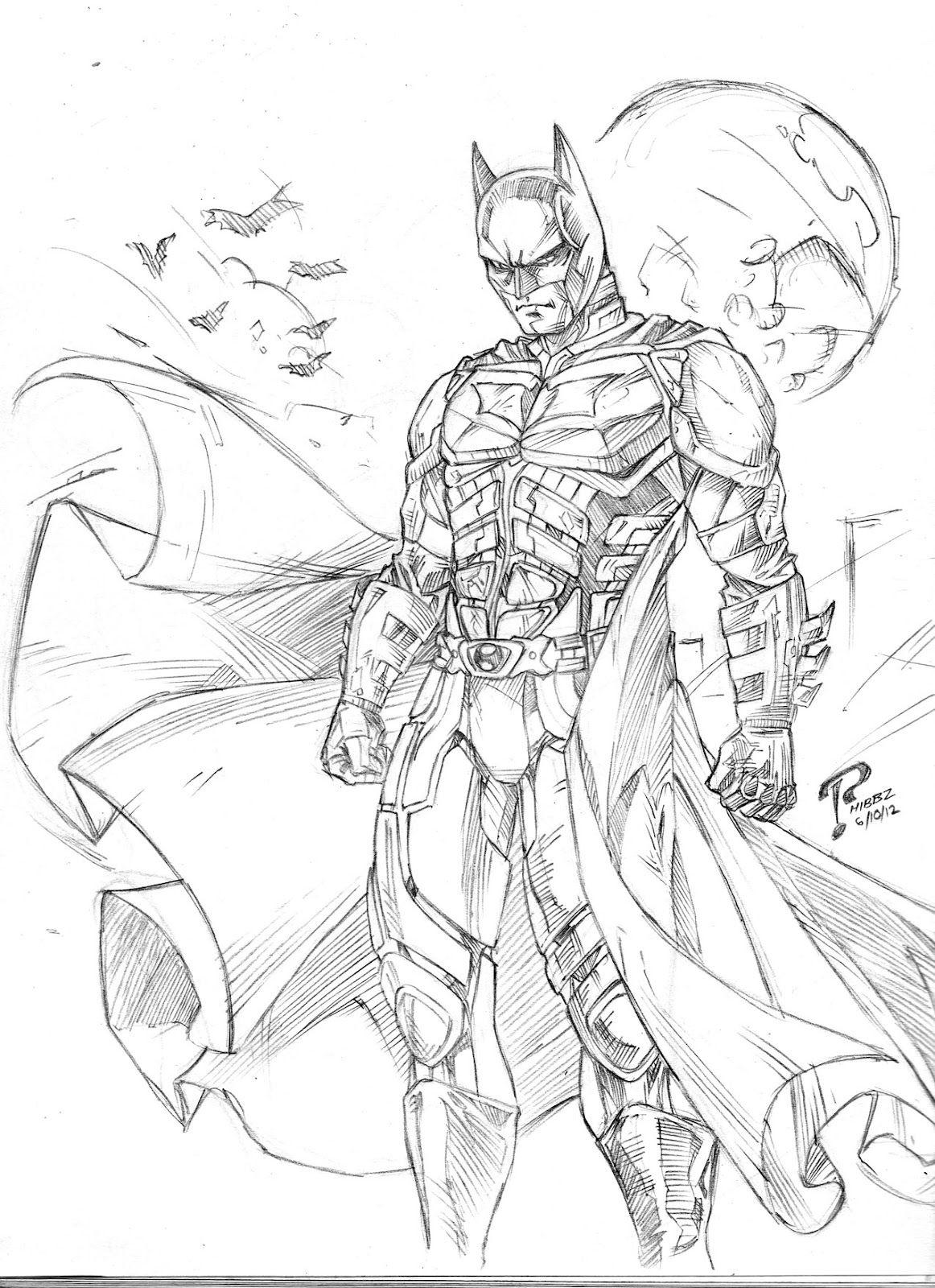 Arkham Knight Coloring Pages Coloring Home