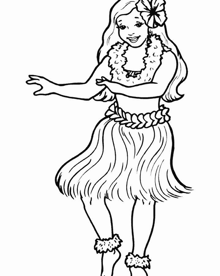 Baby Doll Coloring Pages 6