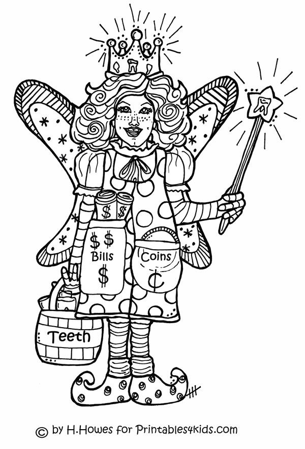 - Tooth Fairy Coloring Page : Printables For Kids €� Free Word Search -  Coloring Home