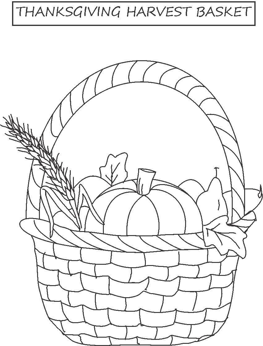 Thanksgiving Harvest Coloring Pages Coloring Home Harvest Coloring Pages