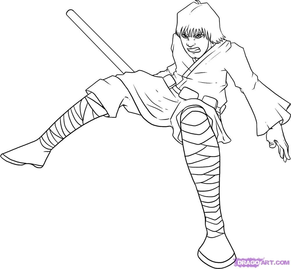 Star Wars Luke Skywalker Coloring Pages Coloring Home
