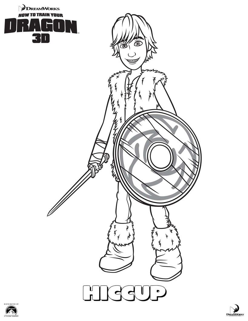 Httyd Coloring Pages - Coloring Home