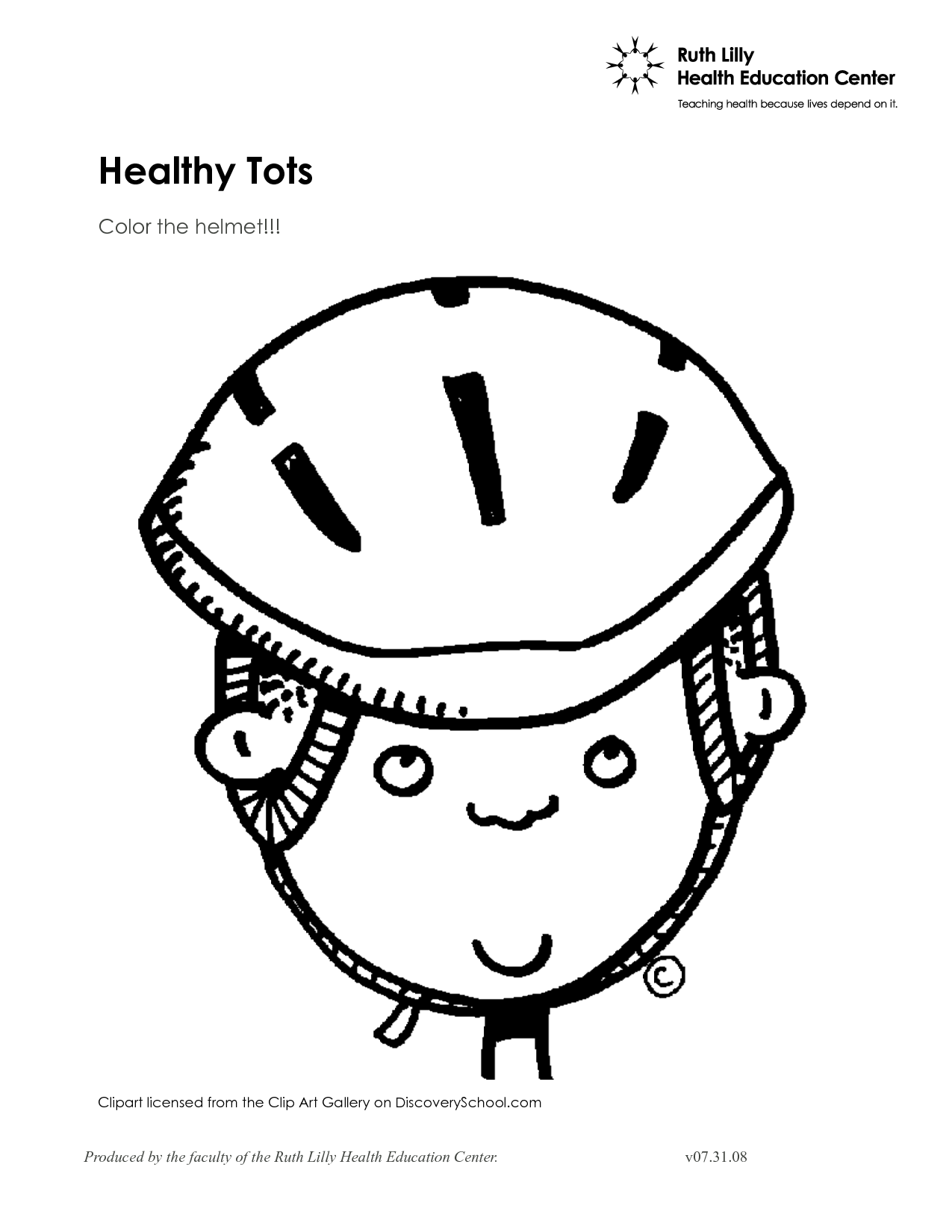 helmet coloring pages - bicycle safety coloring page coloring home