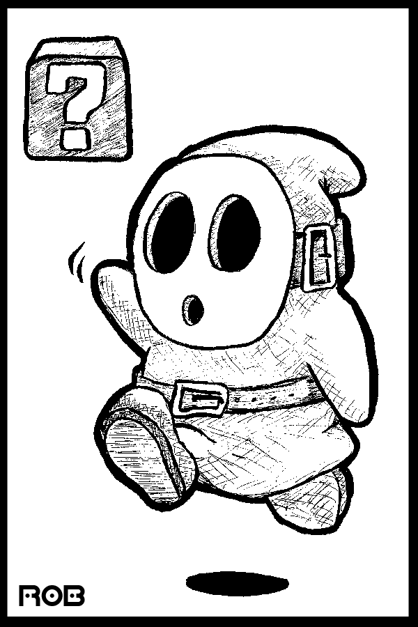 Mario All Bad Guy Coloring Pages Coloring Home