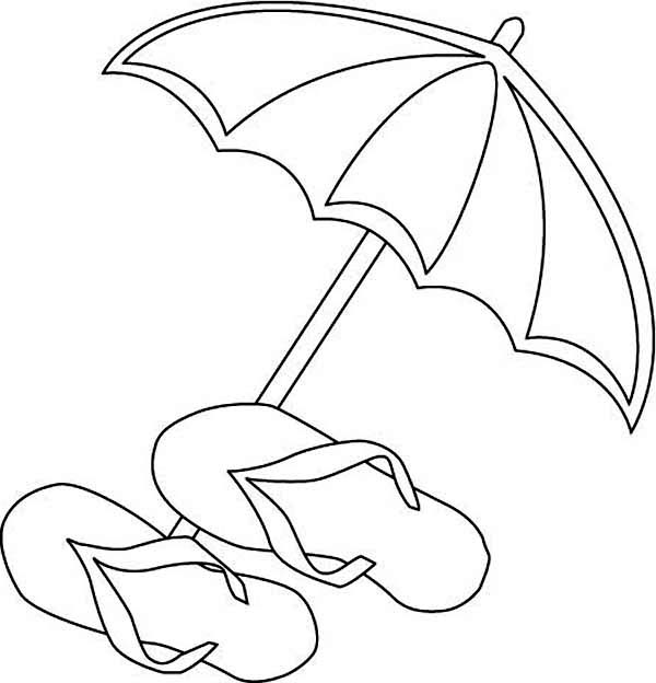 Free Printable Flip Flop Coloring Pages Coloring Home