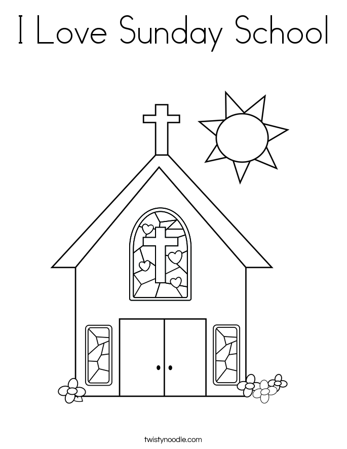 - Sunday School Free Printable Coloring Pages - Coloring Home