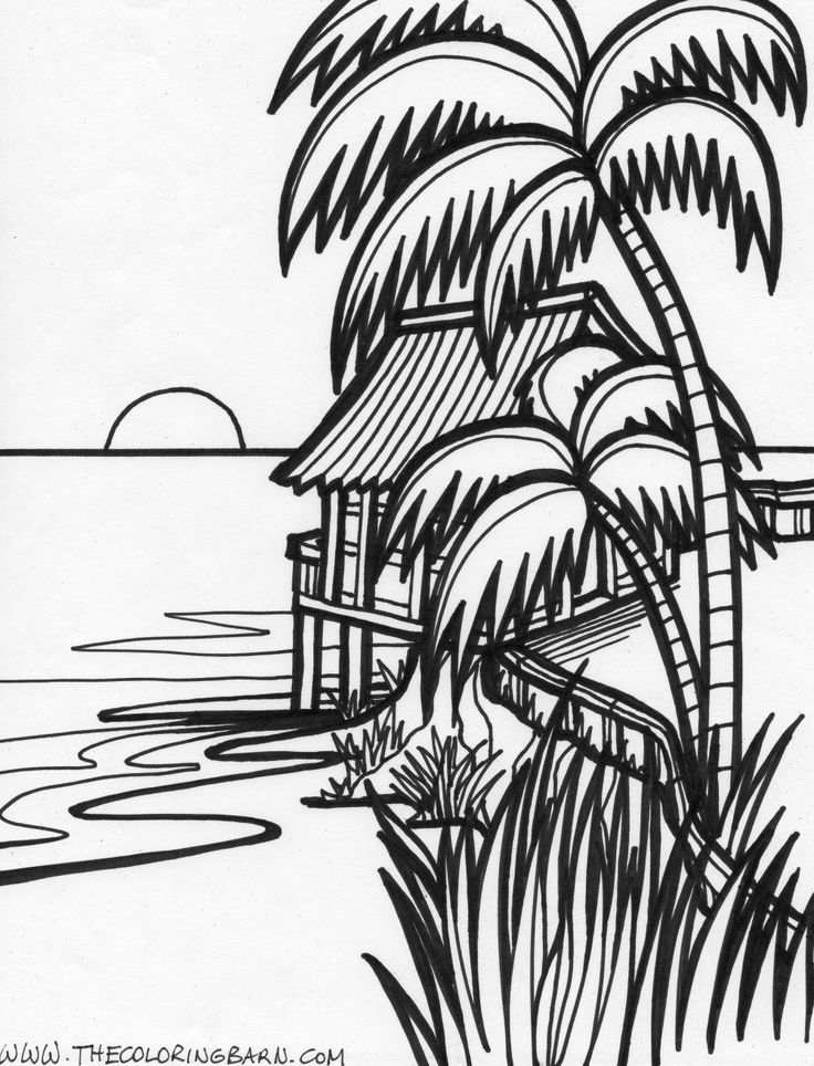 Sunset Coloring Pages To Download And Print For Free Coloring Home