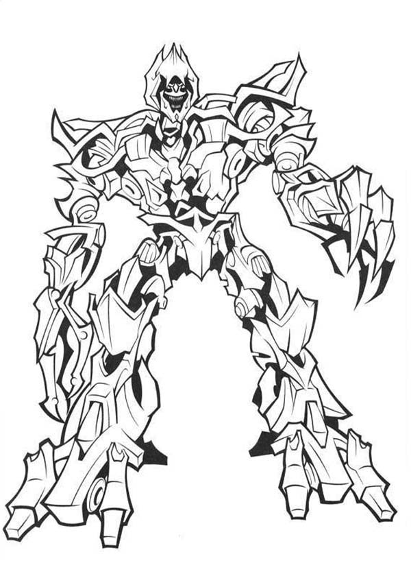 - Megatron Coloring Page - Coloring Home