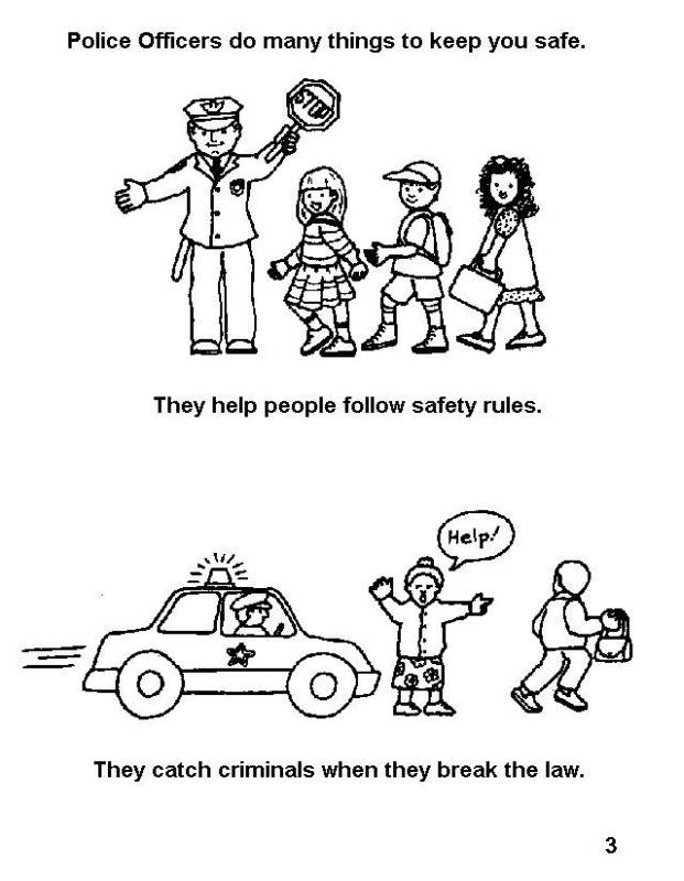 Coloring Pages Of Be Safe