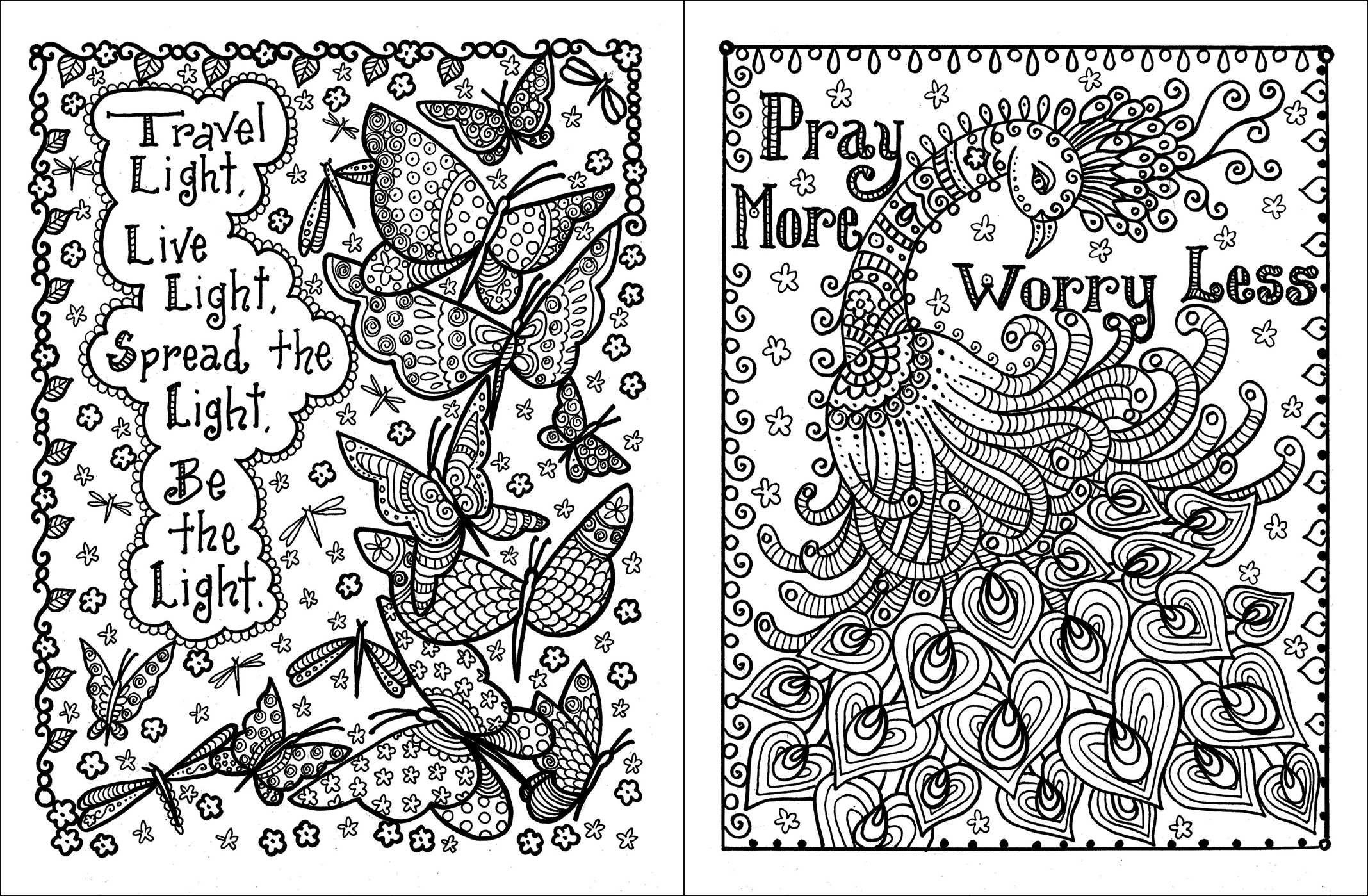 Colouring Pages For Adults With Quotes : Sayings coloring pages home