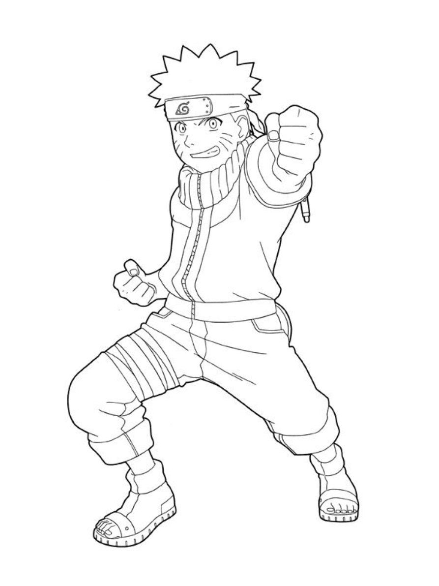 All Naruto Coloring Pages
