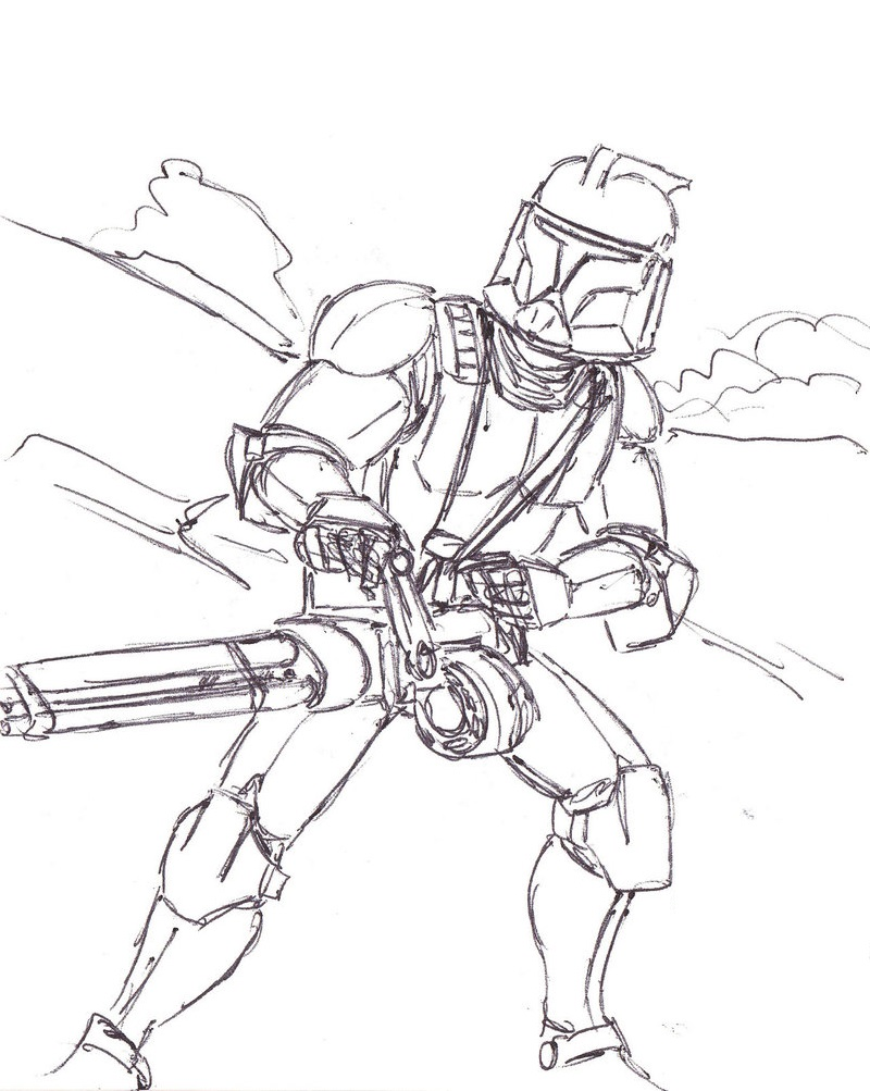 Clone Trooper Coloring Pages ...pinterest.at