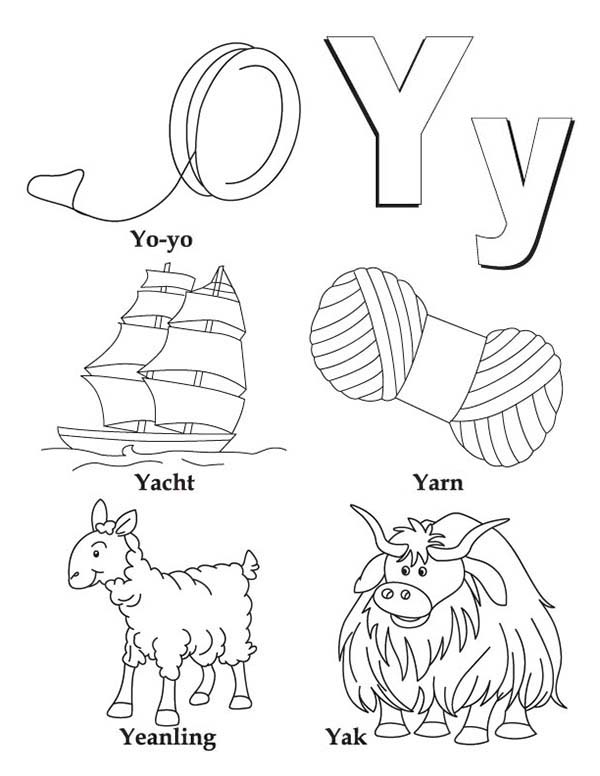 Yarn Coloring Pages - Coloring Home