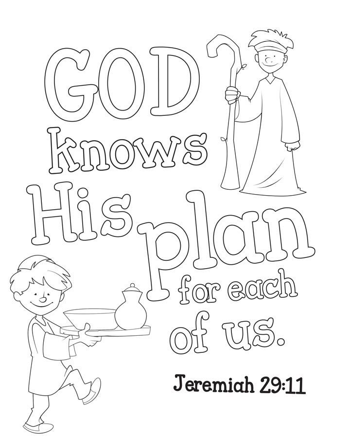 Prophet Jeremiah Coloring Pages