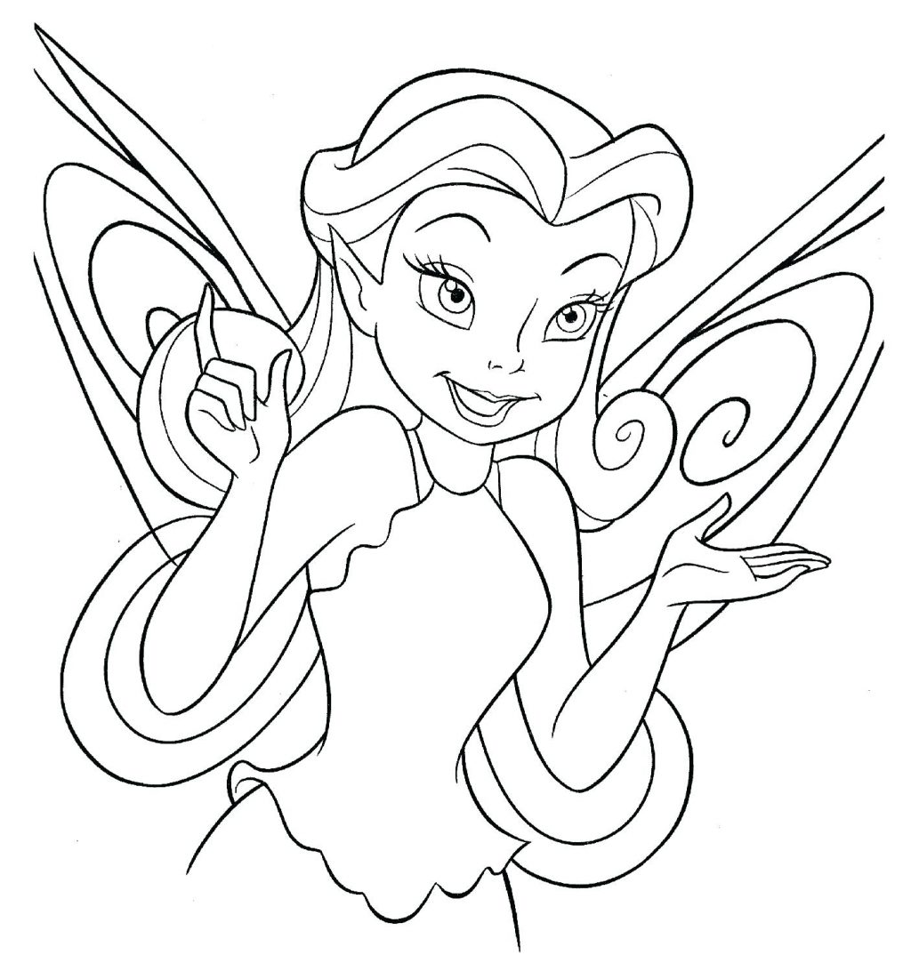 Coloring Page ~ New Coloring Pages Free Printable Fairy Pretty ...