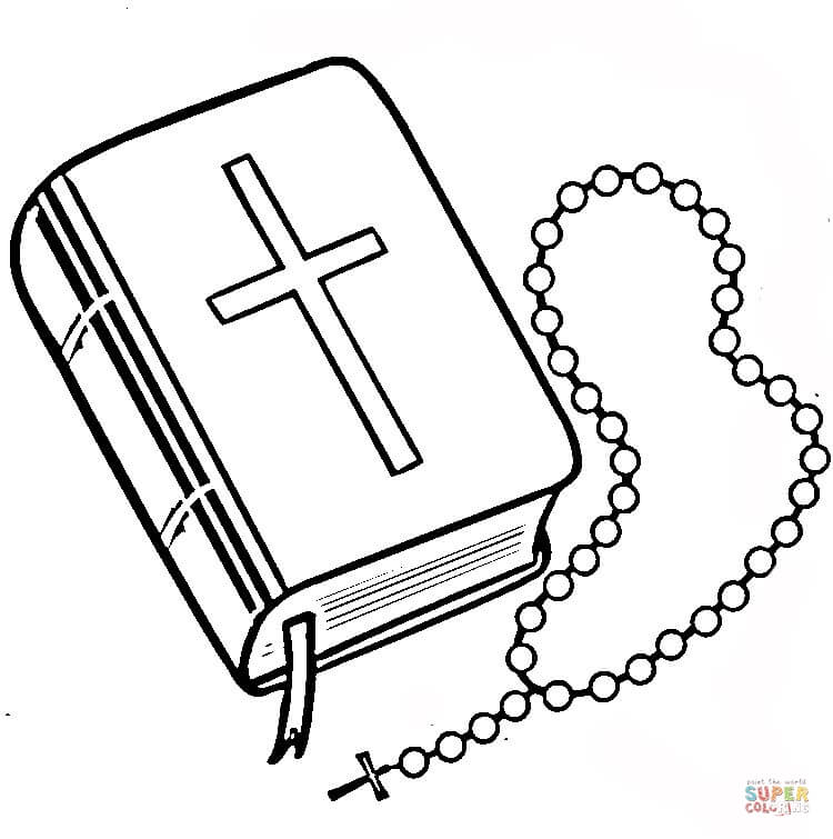 Our Lady Of The Rosary Coloring Page   Free Printable Coloring Pages ...