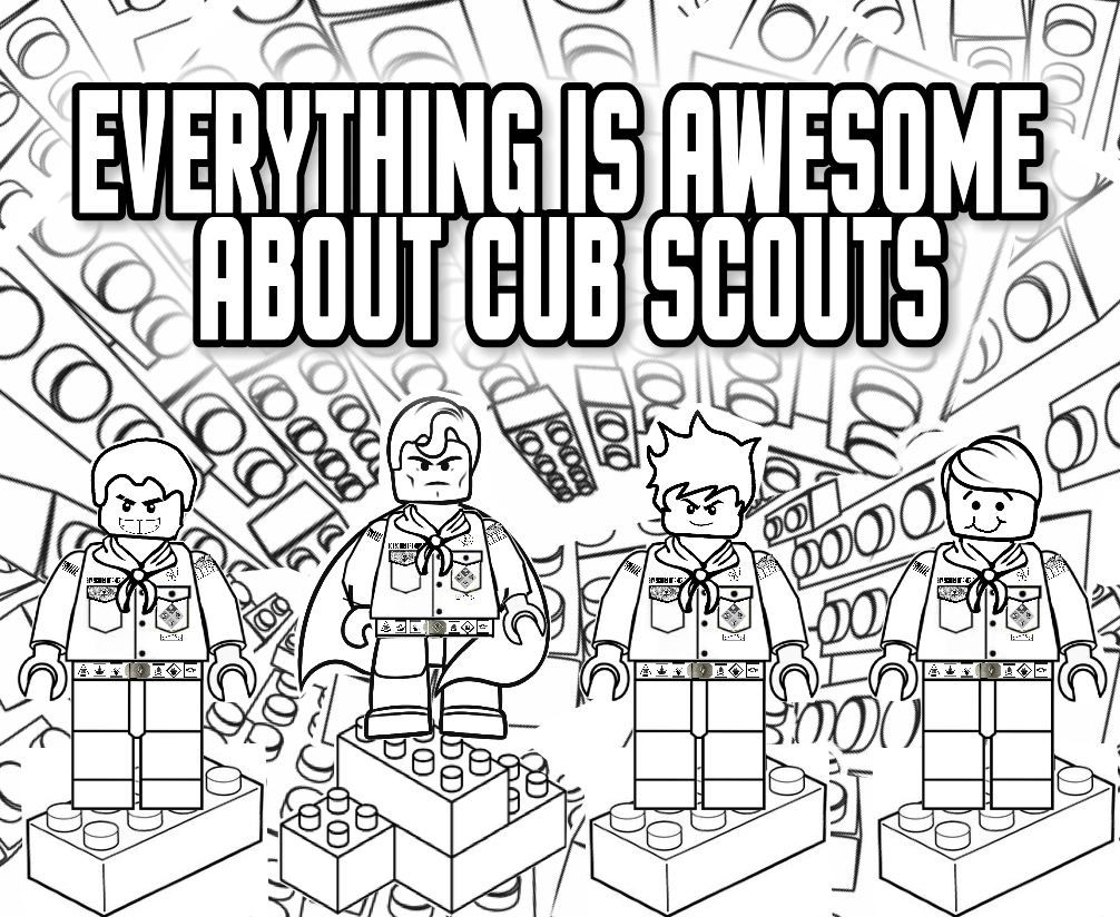 funny boy scout coloring pages - photo#19