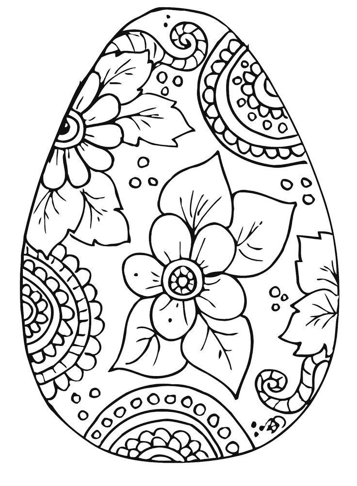 100 Free Coloring Pages for Adults and Children | Flower Coloring ...