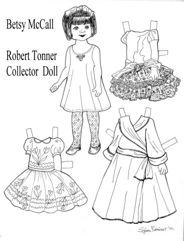 Baby Paper Doll Coloring Pages - Coloring Pages For All Ages