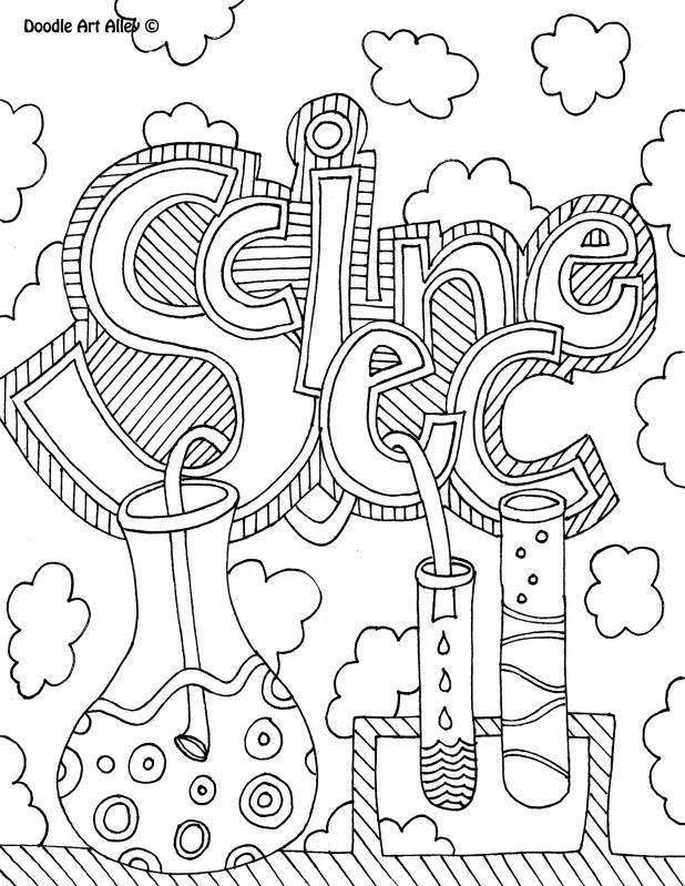 12 Pics of Science Coloring Pages For Girls - Science Notebook ...