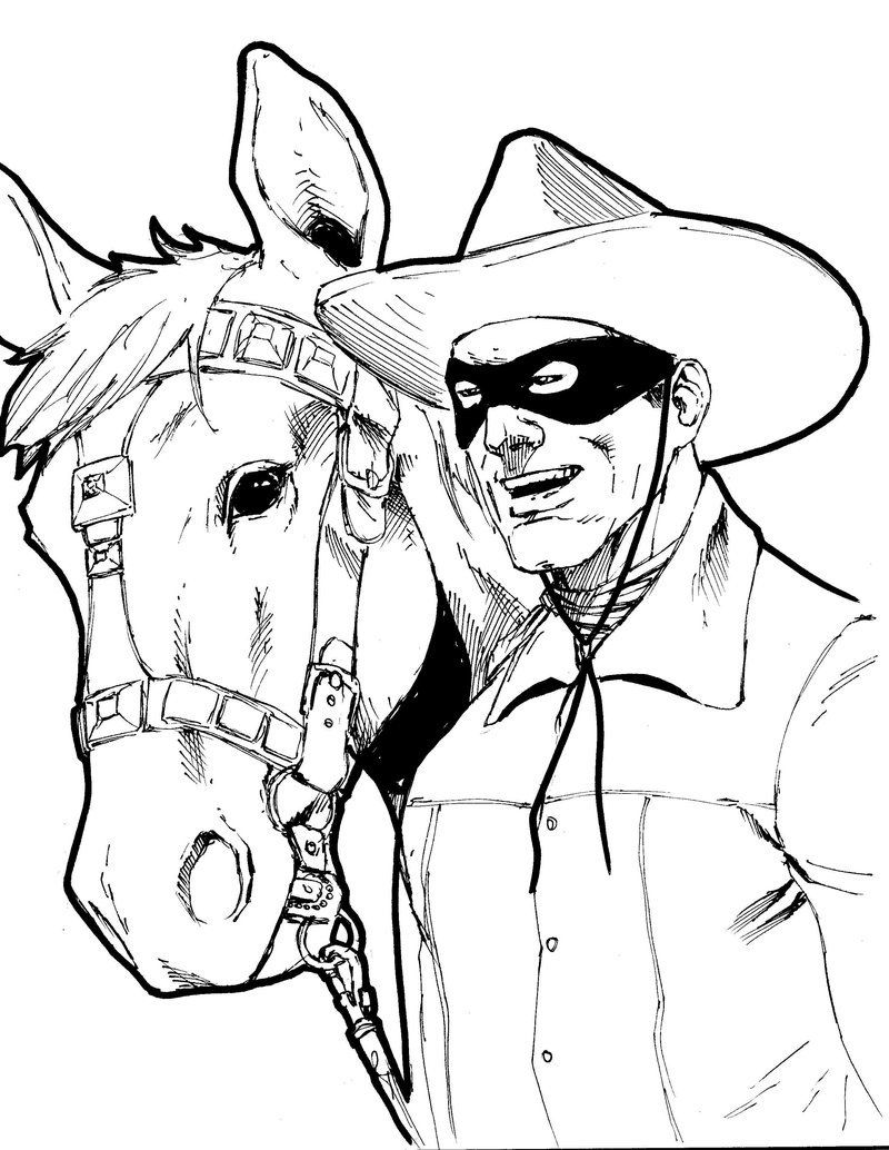 Coloring pages zorro - Lego Lone Ranger Coloring Pages High Quality Coloring Pages