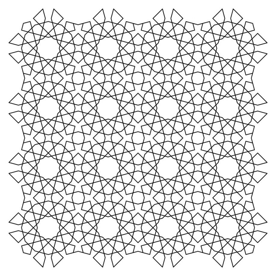 free tessellation coloring pages | Tessellation Patterns Coloring Pages - Coloring Home