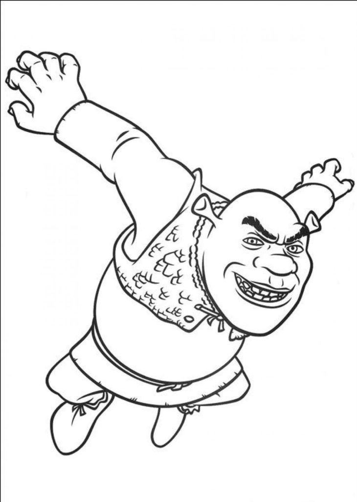shrek babies coloring pages - photo#28