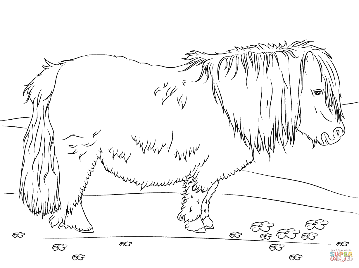 Horse Coloring Pages Hard Coloring