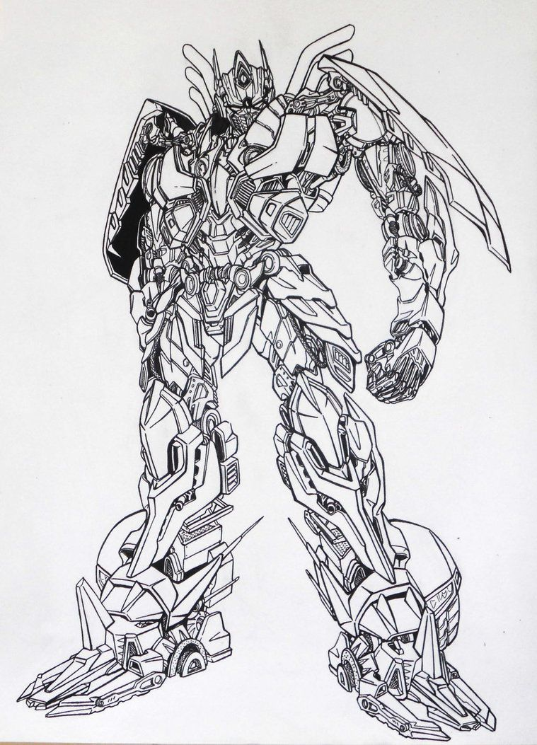 Free printable optimus prime coloring pages coloring pages for free - Transformers Age Of Extinction Coloring Pages Az