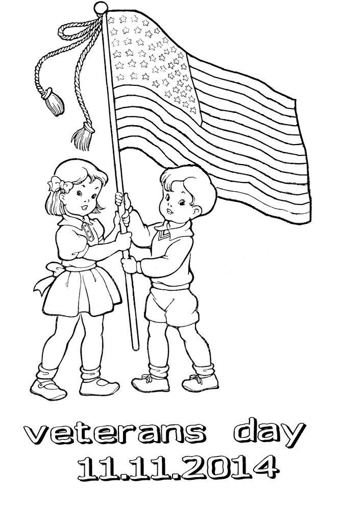 Veterans Day Coloring Pages Free Coloring Home