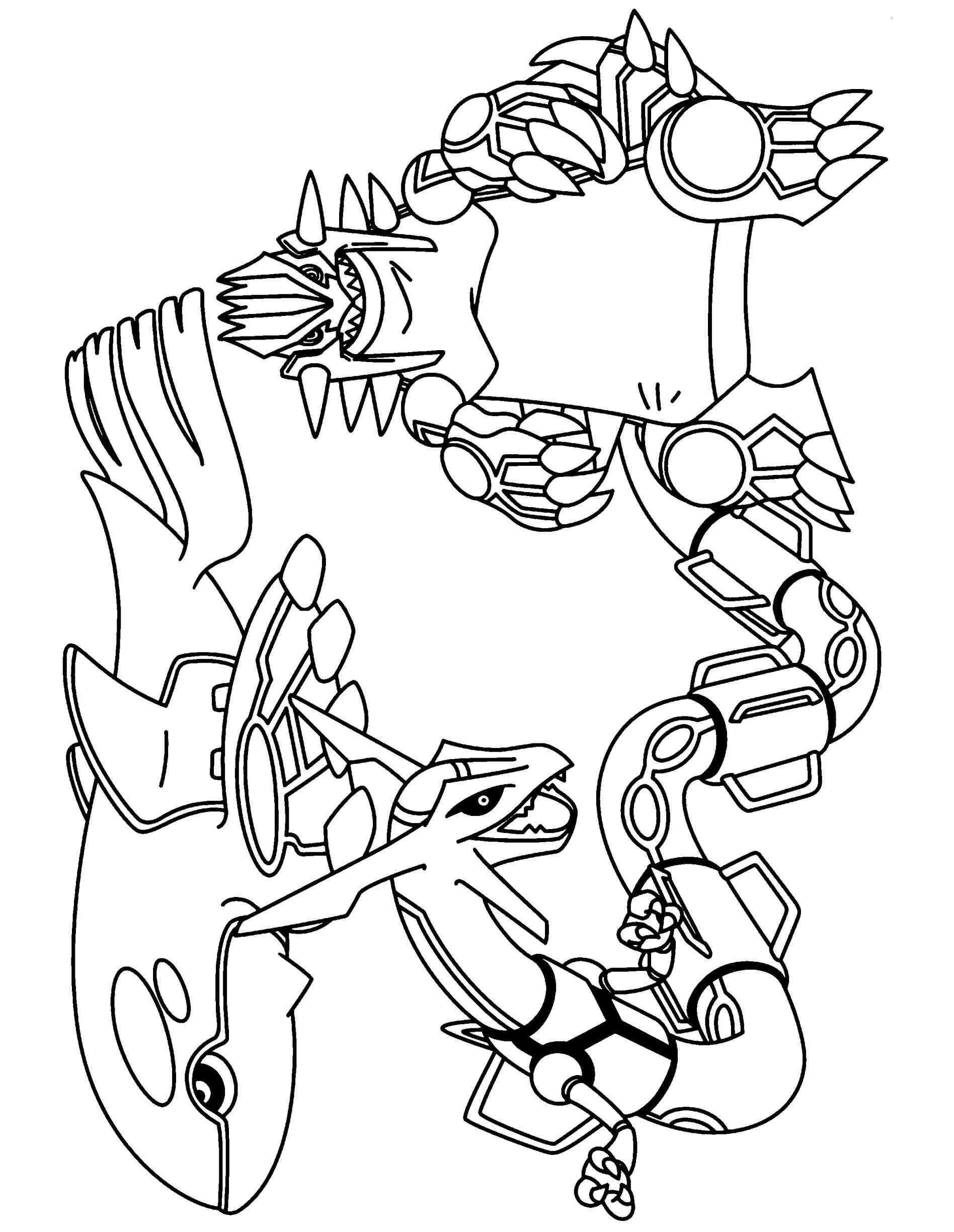groudon coloring pages - photo#18