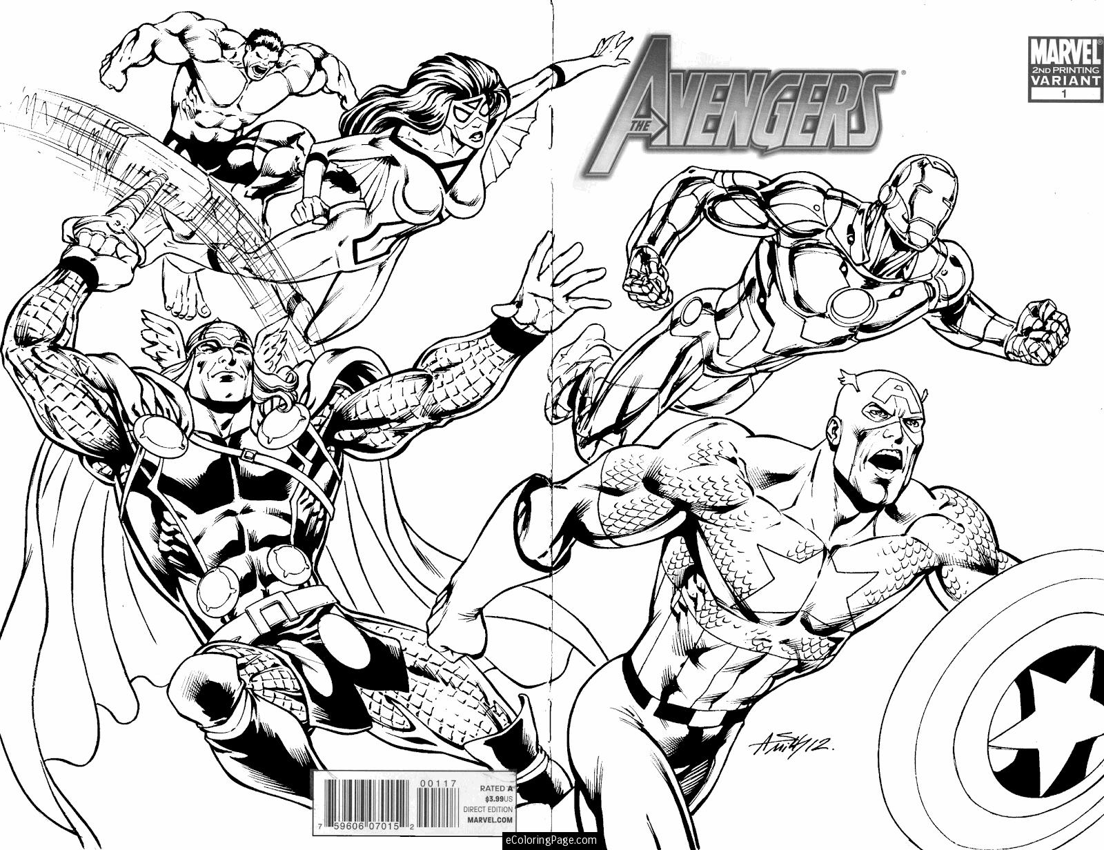 Free coloring pages for avengers - Printable Avengers Coloring Sheets Coloring